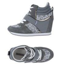 Calvin Klein Blue High-tops & Sneakers