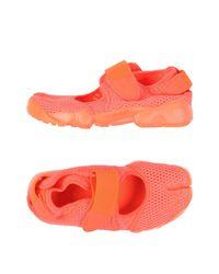 Nike Orange Low-tops & Sneakers for men