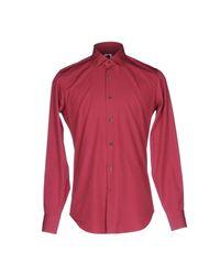 Bagutta Red Shirt for men