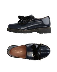 Twin Set Blue Loafer