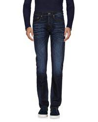 J Brand Blue Denim Pants for men