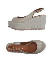 Apepazza Gray Sandals