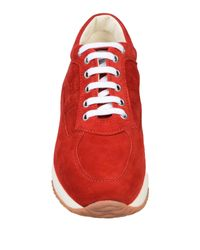 Sneakers & Tennis basses Hogan en coloris Red