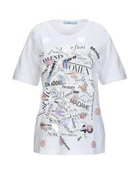 Camiseta Blumarine de color White