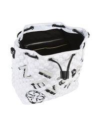 V73 White Backpacks & Bum Bags