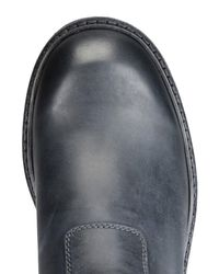 Emporio Armani Blue Ankle Boots for men