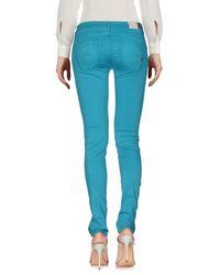 0/zero Construction Blue Casual Trouser