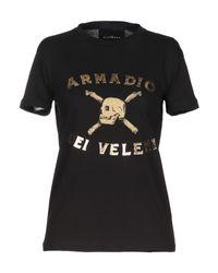 T-shirt John Richmond en coloris Black