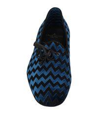 Louis Leeman Blue Loafer