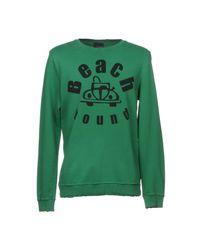 People Green Sweatshirt for men