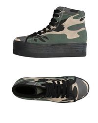 Jeffrey Campbell Green High-tops & Sneakers