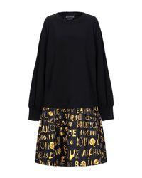 Robe courte Boutique Moschino en coloris Black