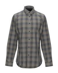 Camisa Guess de hombre de color Gray