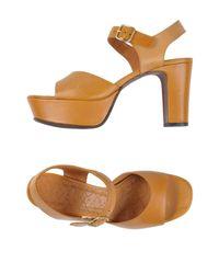 Chie Mihara Multicolor Sandals