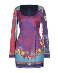Vestito corto di Versace in Multicolor