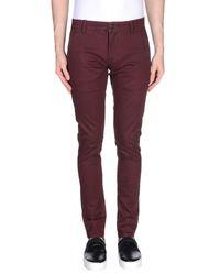 Pantalone di Only & Sons in Purple da Uomo