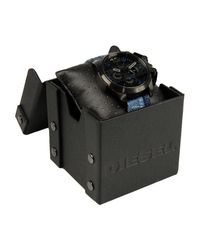 DIESEL | Black Wrist Watch for Men | Lyst