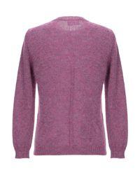 Pullover di Low Brand in Purple da Uomo