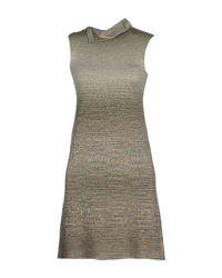 Missoni Green Short Dress