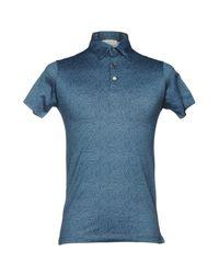 Richard James Blue Polo Shirt for men