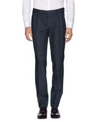 Aglini Black Casual Trouser for men