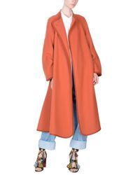 Chloé Orange Overcoat