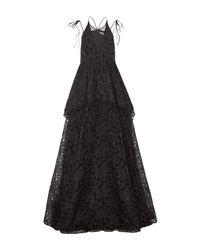 Erdem Black Langes Kleid