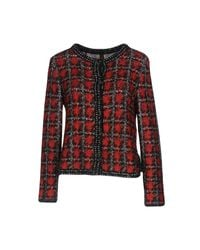 Marc Cain Red Cardigan