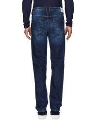Iceberg Blue Denim Trousers for men