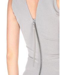 Vestito longuette di Rick Owens in Gray
