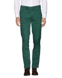 Haikure Green Casual Pants for men