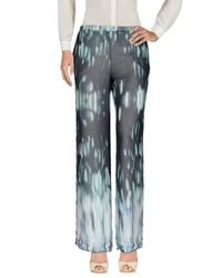 Trou Aux Biches - Gray Casual Trouser - Lyst