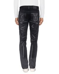 Moschino Blue Denim Trousers for men