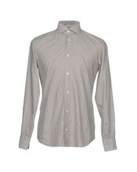 Eleventy Gray Shirt for men