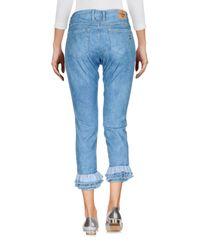 Please Blue Denim Pants