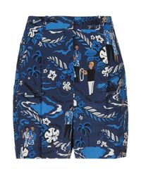 Michael Kors Blue Shorts