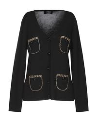 Cardigan Clips en coloris Black