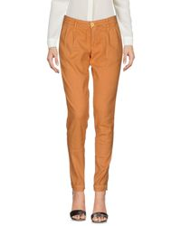 0/zero Construction Orange Casual Trouser