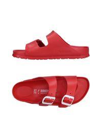 Sandales Birkenstock en coloris Red
