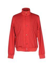 Aspesi Red Jacket for men