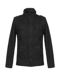 Osklen Black Denim Outerwear for men