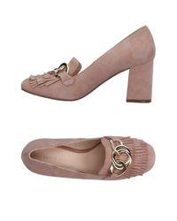 Elvio Zanon - Pink Loafer - Lyst
