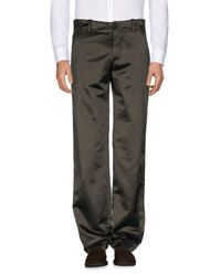 P.A.R.O.S.H. Green Casual Trouser for men