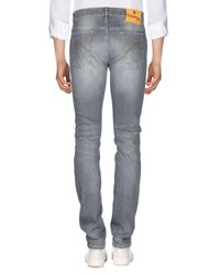 Pantalones vaqueros E.MARINELLA de hombre de color Gray