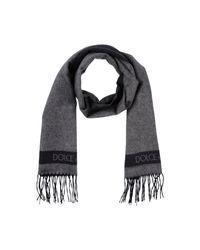 Écharpe Dolce & Gabbana pour homme en coloris Gray