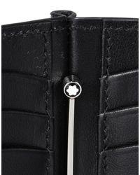 Montblanc - Black Wallet for Men - Lyst