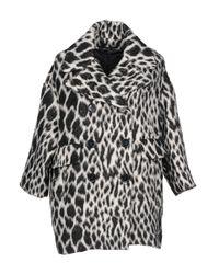 Manteau long Guess en coloris Black