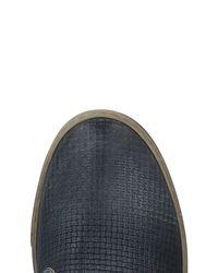 CafeNoir Blue Low-tops & Sneakers for men