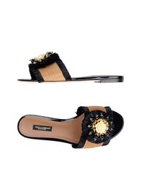 Dolce & Gabbana Natural Sandals