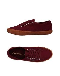 Superga Red Low-tops & Sneakers for men